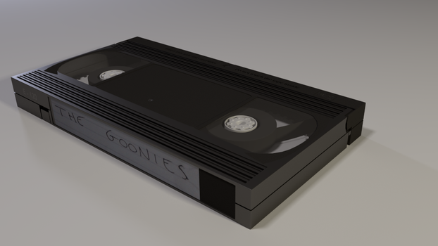 Vhs 3d Model by QuickBoomCG
