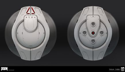 DOOM - Echo Drone Details by MeckanicalMind