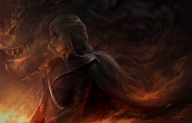 I will take what is mine with fire and blood by RinRinDaishi