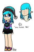 Reference of my inkling by blucloud-zz