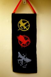 Happy Hunger Games by VickitoriaEmbroidery