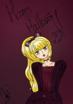 Happy Halloween 2011 by AlehwithH
