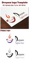 Deepam Logo Template Free Download by sagotharan