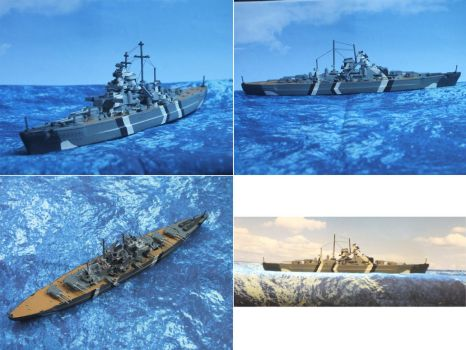 Revell Bismarck by Baryonyx62