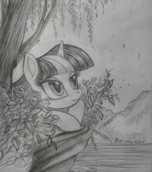 Twilight musing by RainWaterfallsZone