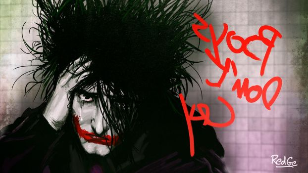 The Joker 80's : Boys Don't Cry (update) by RedGeOrb