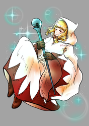 White Mage - ff30thfanproject by KawakineAlice