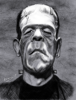 Karloff as Frankenstein's Monster