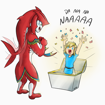 BOTW - Sidlink - Treasures by DyraDoodles