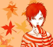 Autumn Gaara by nocturnalMoTH