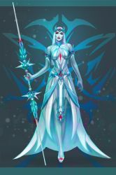 Snow Queen by Cher-Ro