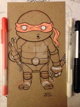 Lil Dude Michelangelo by MARR-PHEOS