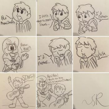 Coco Comic: Basic Plot Summary by JudgeChaos