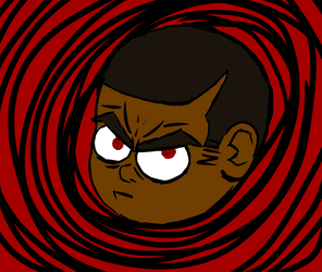 Angry Eyes by BlackandRedCynicXD