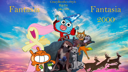 Fantasia and Fantasia 2000 by CrazyBrothersStyleR2