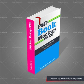 PSD-Book-Mockup-Free by DesignsCanyon