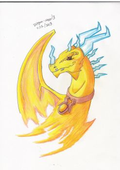 yellow dragon by dragon-man13