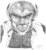 The Wolfman by SaintAlbans