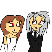 Malana and Silver Married Day by lileehilee