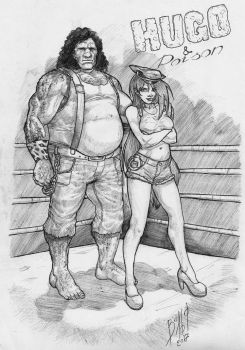 Hugo And Poison by WolfMagnum