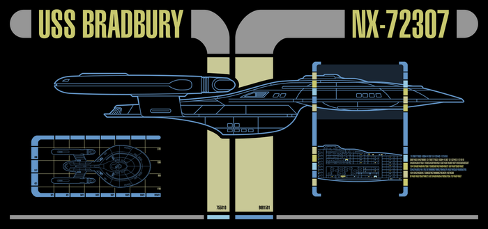 USS Bradbury - Master Systems Display by Rekkert