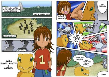 Digimon 2.5 Pages 1 and 2 by CherrygirlUK19