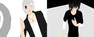 MMD: Harry and Leo Two faced Lovers by MochaMonet