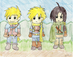 Golden Sun - Heroes by Cyril-L-Valentine