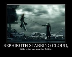 Sephiroth VS Cloud by nobodieslove