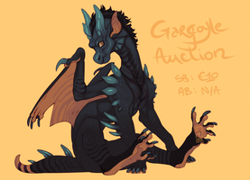 Gargoyle Adoptable by LiLaiRa