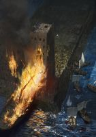 Siege of Tyre by EthicallyChallenged