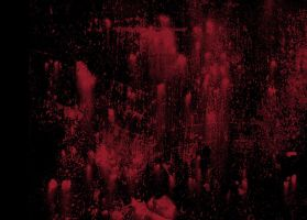 Bloody Wall Spatter by AshenSorrow