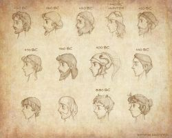 Ancient Greek Hairstyles_male by Ninidu