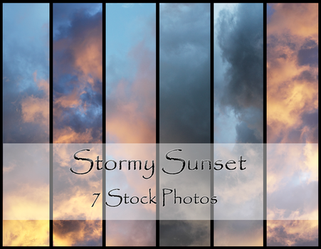 Stormy Sunset by dbstrtz