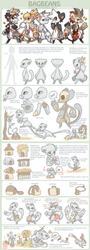 Bagbeans Species sheet - CLOSED SPECIES by griffsnuff