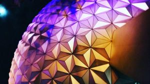 Epcot at Night :: Spaceship Earth by Digital-Jedi