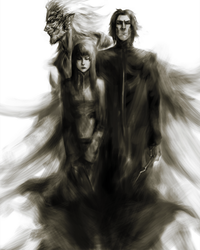 Death Eaters by AndresRomeroArt