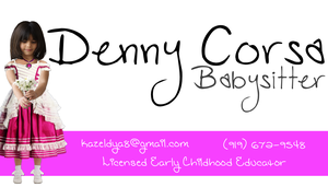 Babysitting Business Card 01 by theinfamousj