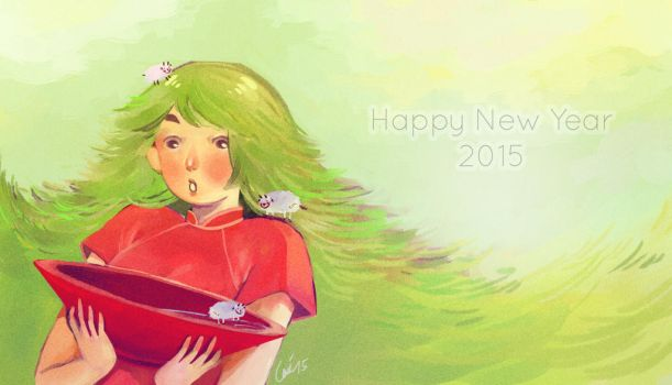 happy lunar new year - 2015 by bluenblackst