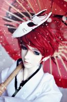 Kitsune Boy by Reizie