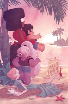 Steven Universe Issue 1 Wondercon Cover Variant by missypena