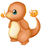 Sketch-a-day 6 - Freedraw Friday - Charmander by Kitty101ck