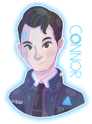 DBH | Connor (+RB) by MynnuB