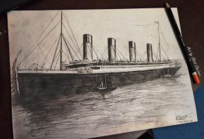 RMS Olympic by Eliott-Chacoco