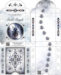 Beetle Royale: Poker Deck Box - Outside and Inside by atomantic