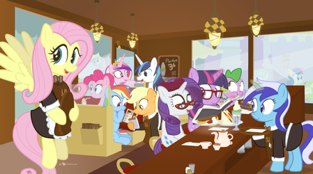 Cafe du Mare by dm29