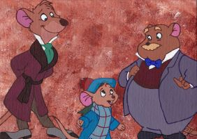 Basil the Great Mouse Detective by CaraLouKimba