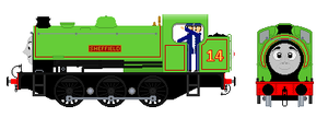 Sheffield the Saddle tank engine - CJ style by AmazingNascar221