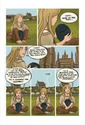 Mias and Elle Chapter1 pg1 by StressedJenny