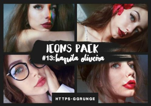 SITEMODELS ICONS PACK - #13: Haquila Oliveira. by https-ggrunge